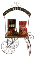 Display Metal Chalk Board Display Cart-Wald Imports