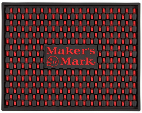 Maker's Mark Bar Mat