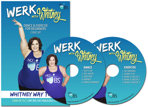 WERK with Whitney 10 Video DVD Set