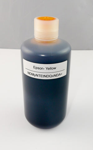 Wide Format Ink - Yellow - 1L