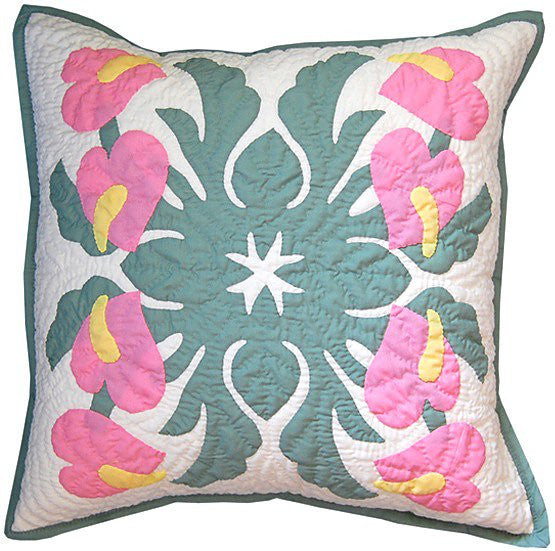 Pillow Cover - multi anthurium