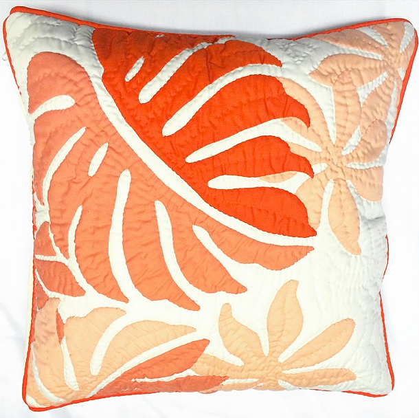Pillow Cover - Tiare/palm