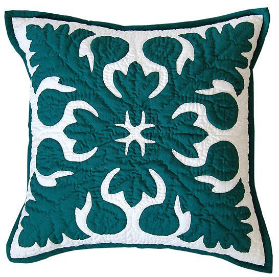 "Pillow Cover - ""ulu""  breadfruit"