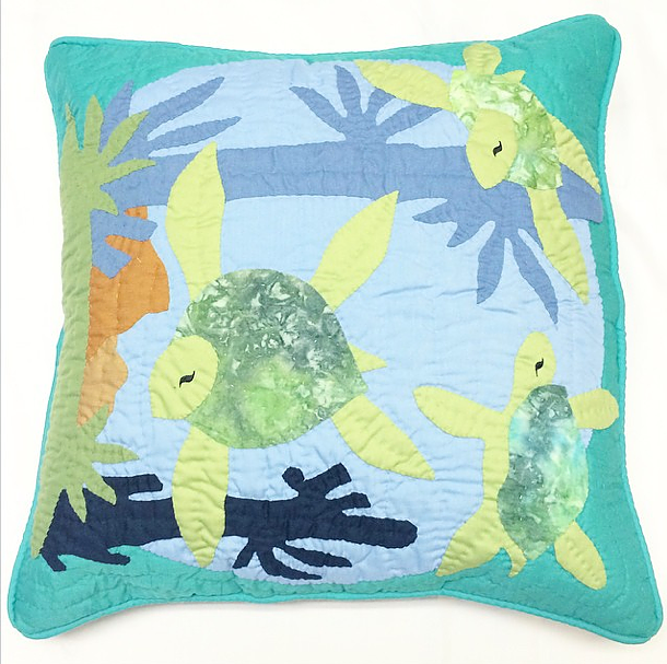 Pillow Cover - Sea Turtles