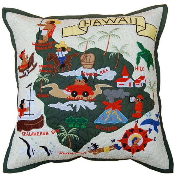 Pillow Cover - Big Island of Hawaii