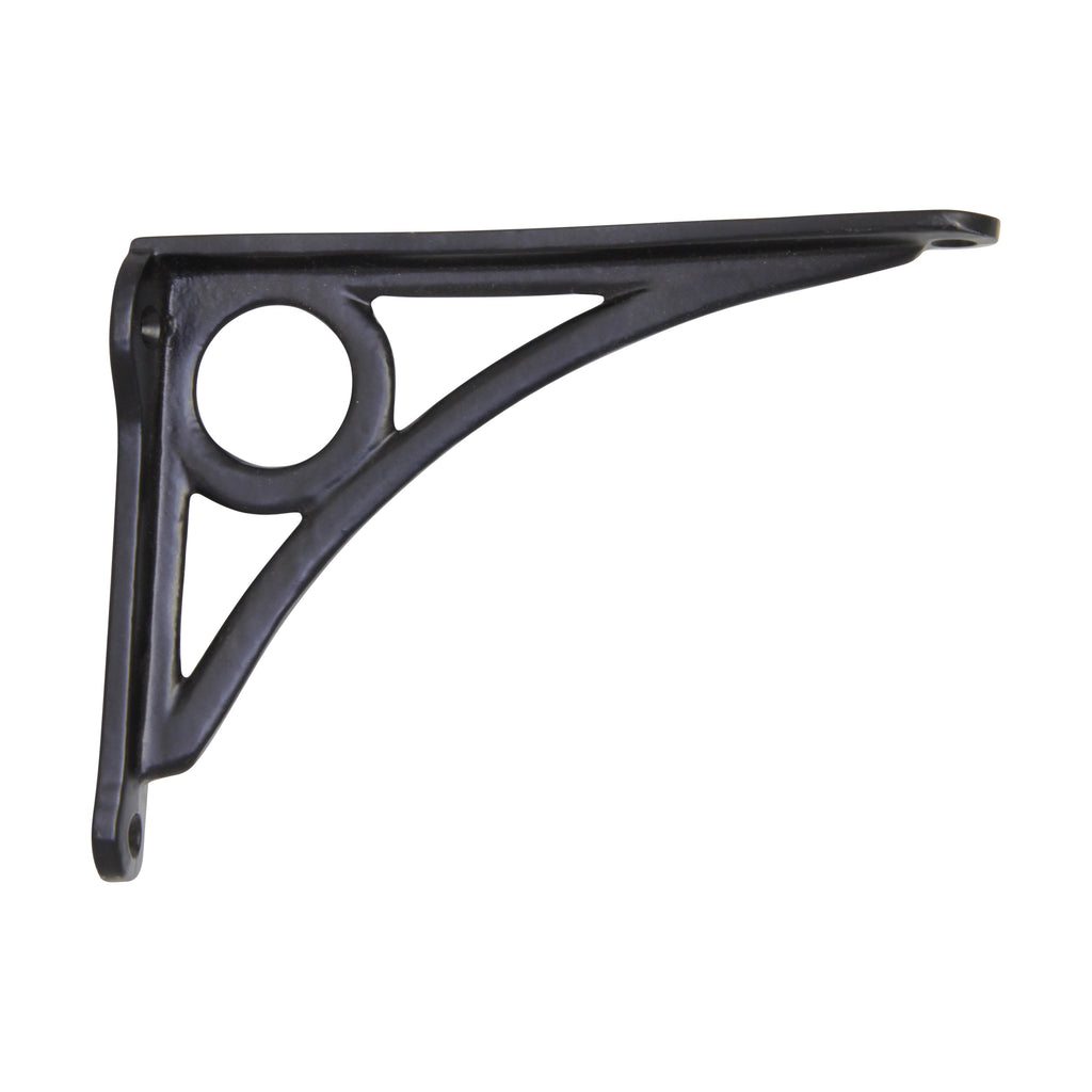 Lighthouse Lighthouse Bracket IR8015 Modern Shelf Bracket, Black