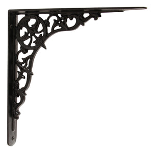 Classical Classical Bracket IR8201 Traditional Shelf Bracket, Black