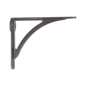 Sleek Small Sleek Small Bracket IR8207 Modern Shelf Bracket, Antique Brass