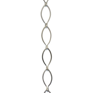 Chain BR04-U Loop Chandelier Chain with Unwelded Brass links, Antique Brass