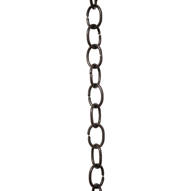 Chain BR06-U Loop Chandelier Chain with Unwelded Brass links, Antique Brass