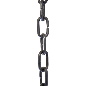 Chain BR07-U Standard Link, Coil Chandelier Chain with Unwelded Brass links, Antique Brass