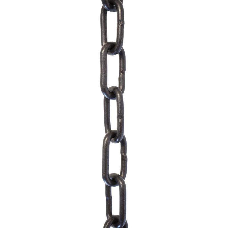 Chain BR07-W Standard Link, Coil Chandelier Chain with Welded Brass links, Antique Brass