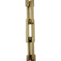 Chain BR31L-H Rectangle, Hinge Chandelier Chain with Hinge Brass links, Matte Silver