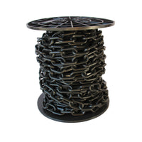 Chain PL55-U Standard Link Barrier Chain with Oval Unwelded Plastic links, Black