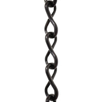 Chain ST50-U Single Jack Basket Chain with Unwelded Steel links, Antique Brass