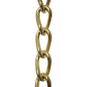 Chain ST54L-U Twist Clock Chain with Unwelded Steel links, Black