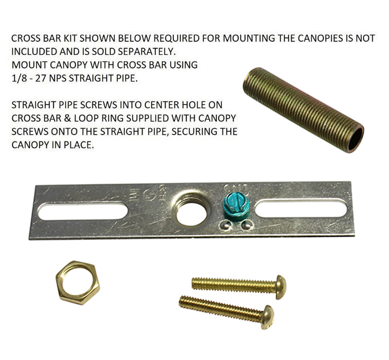 [Mounting Kit Large] Fits Canopy BR21