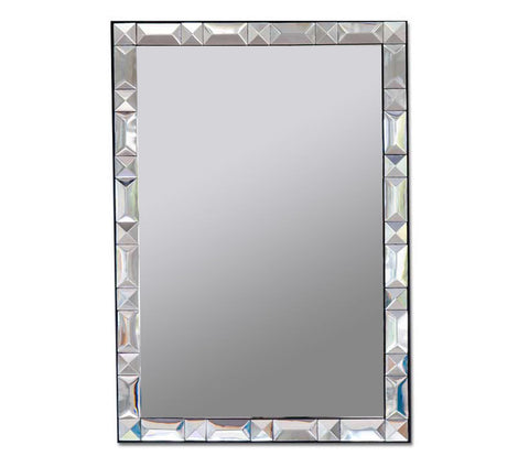 Default Title CROATIA Glass Mirror Product from RCH Hardware's Decorative WALL DECOR Collection for interior decorating & home decor.