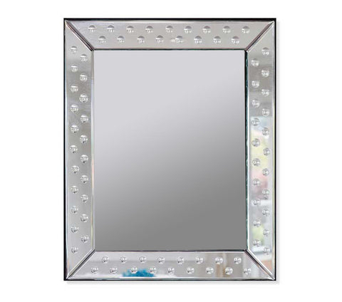 Default Title ZURICH Glass Mirror Product from RCH Hardware's Decorative WALL DECOR Collection for interior decorating & home decor.