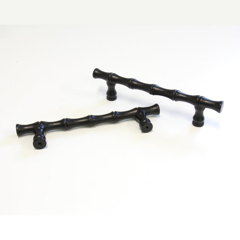 Handle IR004 Traditional, T-Bar Handle Pull, Black