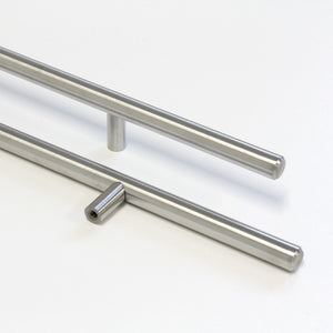 Handle SS002 Modern, T-Bar Handle Pull, Stainless Steel