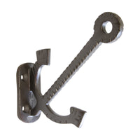 Anchor Hook IR8391 Decorative Wall Hook, Black