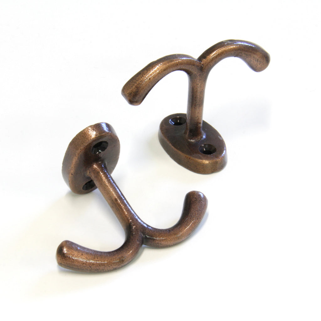 Admiral Hook IR8395 Decorative Ceiling Hook, Antique Copper