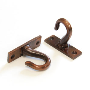 Harbour Hook IR8396 Decorative, heavy-duty Ceiling Hook, Antique Copper