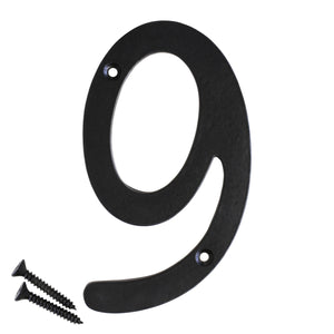 Number IR530 Vintage, Serif House Number, Black