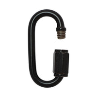 Quick-Link SS03 Threaded, Screw Lock Quick Link, Black