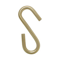 [S-Hook SS03] Stainless Steel S-Hook | 2 Sizes