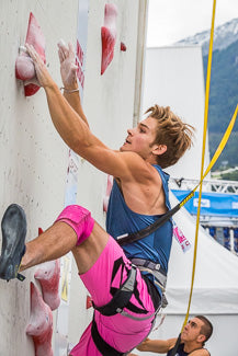 Max Hammer in Speed Climbing Qualifications YWCH 2017
