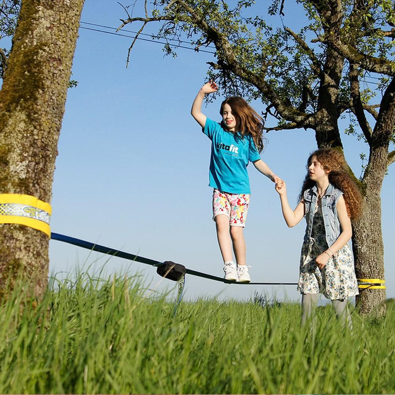 Gibbon Fun Line Slack Line - Aerial Adventure Tech