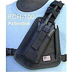Radio Chest Harness with Pouch