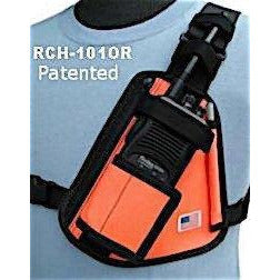 Holsterguy Radio Chest Harness with Velcro Pouch - Aerial Adventure Tech
