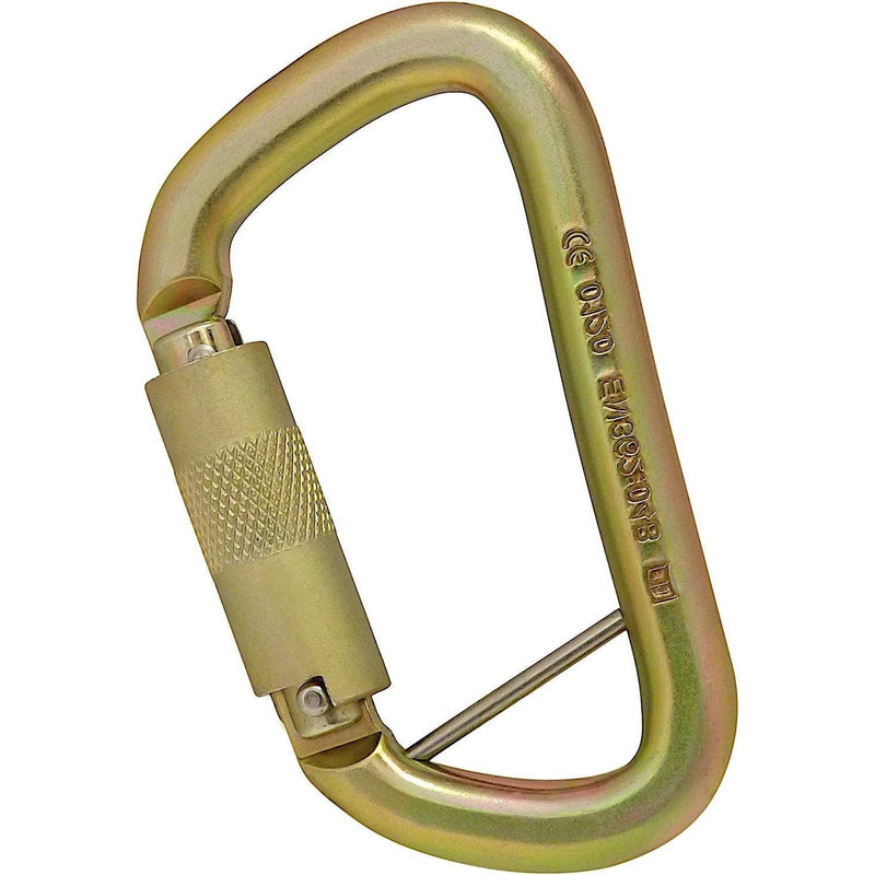 ISC Steel Offset D Carabiner - Aerial Adventure Tech