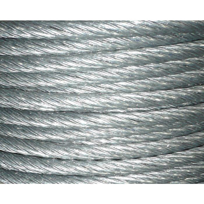 KOALA Equipment 6x26 Galvanized IWRC Wire Rope - 12mm - Aerial Adventure Tech
