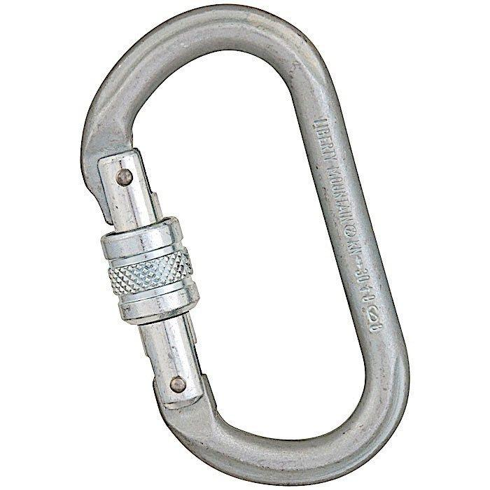 Liberty Mountain LM Steel 30kN Oval Carabiner - Aerial Adventure Tech