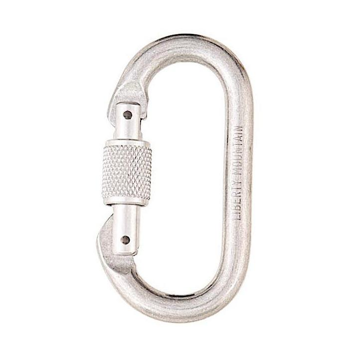 Liberty Mountain Oval Carabiner - Aerial Adventure Tech