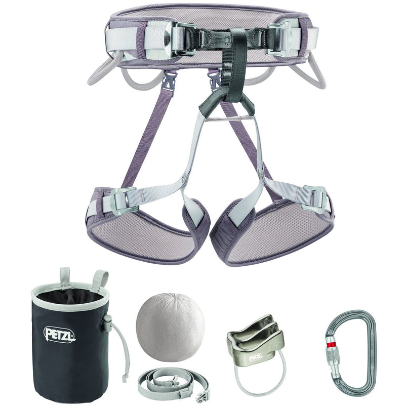 Petzl Corax Climbing Harness Kit - Aerial Adventure Tech