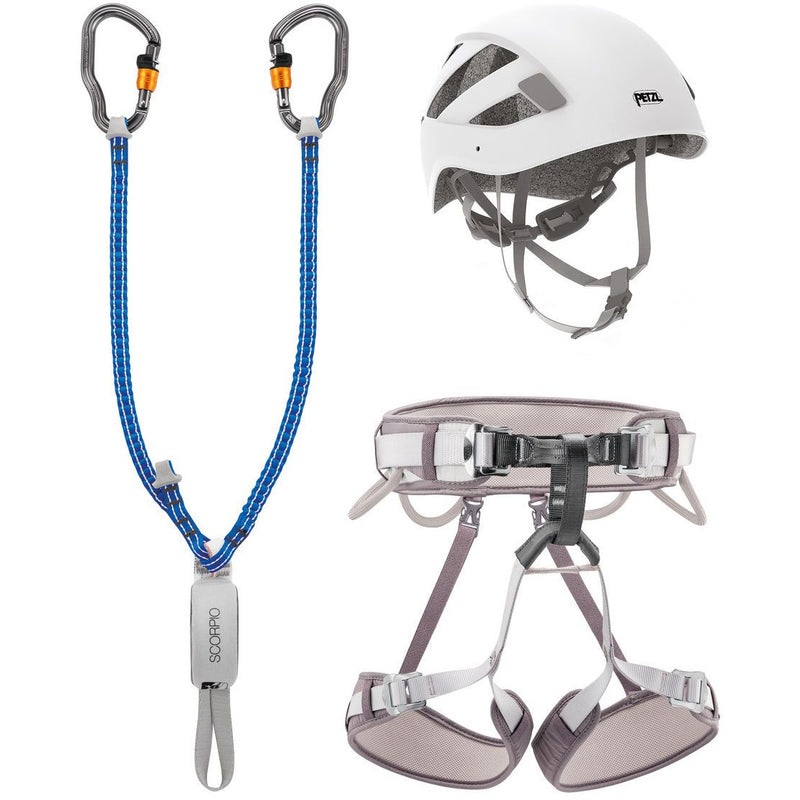 Petzl Via Ferrata Kit - Vertigo - Aerial Adventure Tech