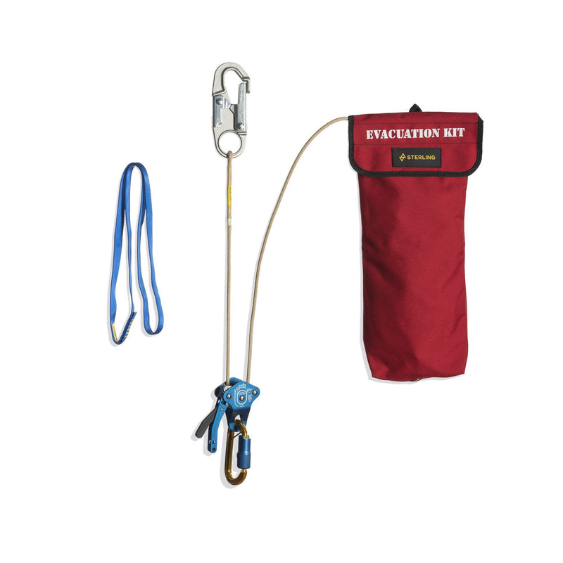Sterling Rope PDQ Bucket Evacuation Kit - Aerial Adventure Tech