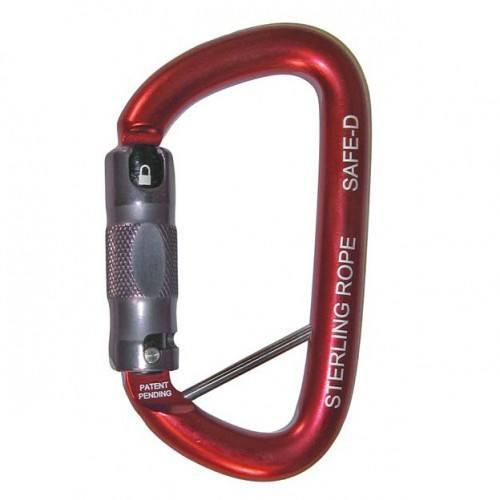 Sterling Rope SafeD Carabiner - Aerial Adventure Tech