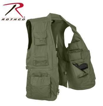 Clothing - Rothco Plainclothes Concealed Carry Vest