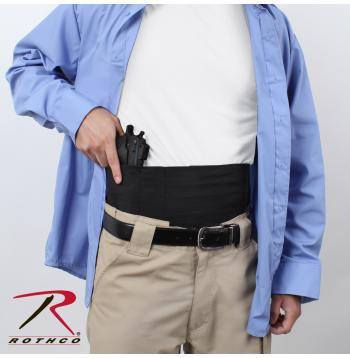 Holster - Rothco Ambidextrous Concealed Elastic Belly Band Holster