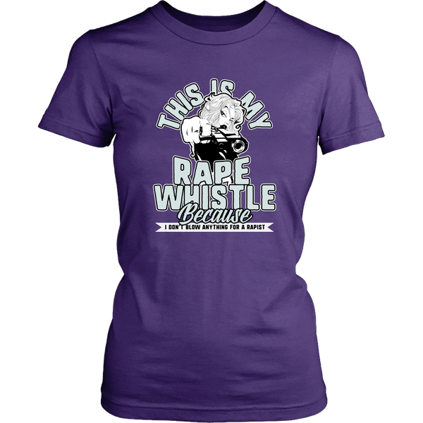 Ladies Rape Whistle T-Shirt