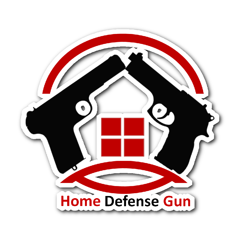 Stickers - Home Defense Gun Decal