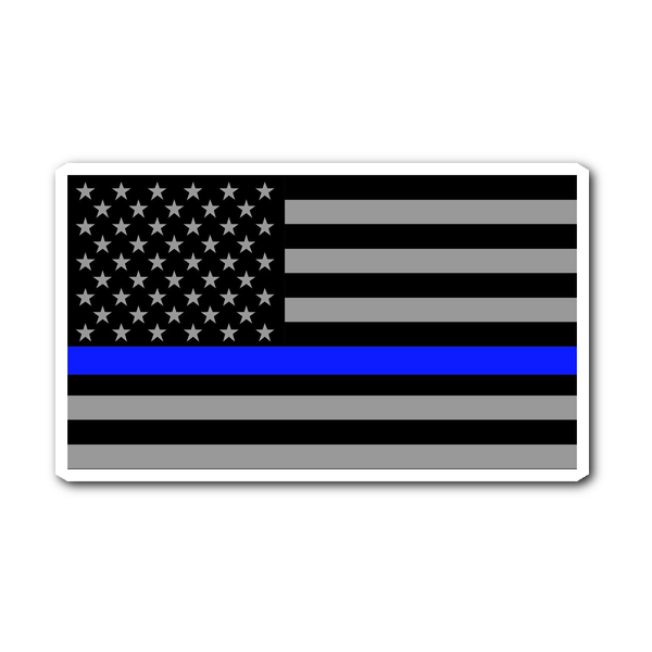 Stickers - Thin Blue Line Decal