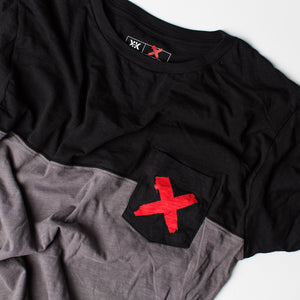 Red X Pocket Tee
