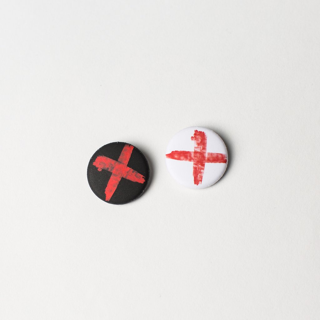 RED X BUTTON 4-PACK